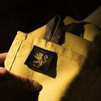 BCS132 Tuscan Yellow Cotton Tea Towel Lifestyle 2